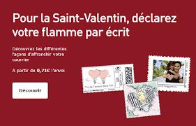 si鑒e la poste 这个情人节 定制你的专属邮票吧 沪江法语学习网