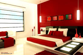 Red Color Meaning Bedroom Entrancing Red Bedroom Design White Accent Walls Master