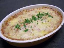 cuisiner le congre recette congre au gratin