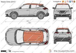 nissan kicks 2017 the blueprints com vector drawing nissan kicks