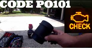 how to fix your mass air flow sensor code p0101 vw jetta golf 1 8