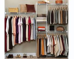 valuable information about how to organize a closet