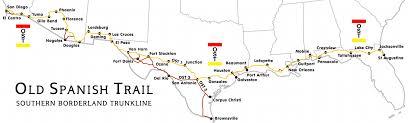 Buckeye Trail Map Old Spanish Trail At Americanroads Us