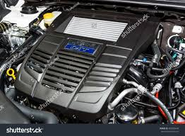 subaru boxer engine bangkok december 01 subaru boxer dit stock photo 350605646