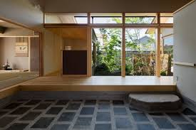 Architectural Design Gallery Of House With A Doma Salon Takashi Okuno Architectural