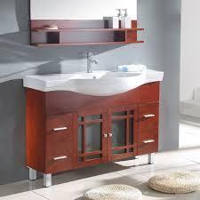 Overstock Bathroom Vanities Cabinets Bathrooms Design Bathroom Vanity Cabinet Hazelnut Vessel Cherry