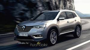 renault suv renault koleos replacement to be called maxthon