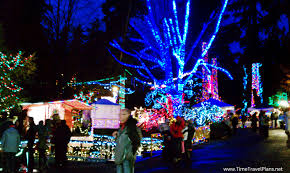 all of the lights at bright nights in stanley park thatgirlcarmel
