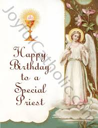 catholic birthday cards birthday to a special priest greeting card