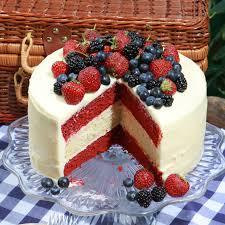 glorious red white and blue cake recipe epicurious com