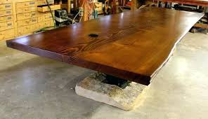 wood conference tables for sale live edge conference table natural or live edge wood slab for dining