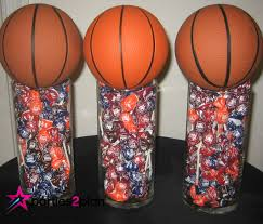 basketball centerpieces party pointers simple sports centerpieces parties2plan