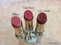 ayndie u0027s makeup it cosmetics sheer lipstick trio maybelline
