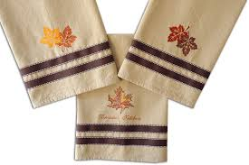 kitchen tea towels blank for embroidery printing and
