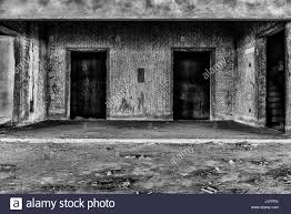 interior of abandoned building creepy place darkness horror
