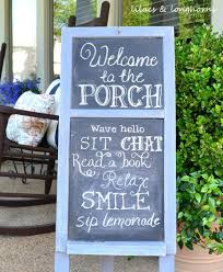 30 best front porch sign designs and diy ideas for 2017