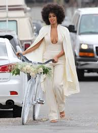 wedding jumpsuit 17 impossibly pretty solange inspired bridal jumpsuits