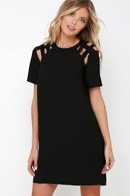black shift dress black dress shift dress sleeve dress 42 00