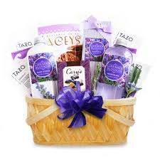 california gift baskets california delicious lavender spa getaway gift basket
