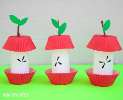 Pinterest Crafts For Kids To Make - paper roll apple core craft easy fall craft for kids at non