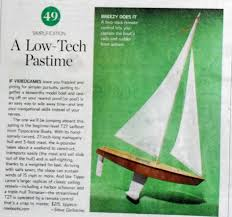 Radio Control Model Boat Magazine Rc Sailboats In The News And On Phone Books