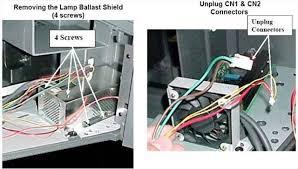 how to replace a bulb in a mitsubishi dlp tv lamp techwalla com