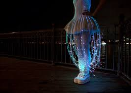 jellyfish dress stay out of the grass fiber optic dress