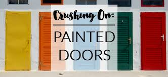 Colored Interior Doors Crushing On Painted Interior Doors A Designer At Home