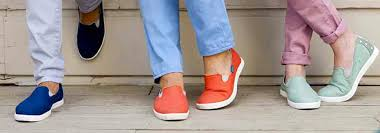 Soft And Comfortable Shoes Blu Kicks Offers Stylish U0026 Bright Canvas Slip Ons Review