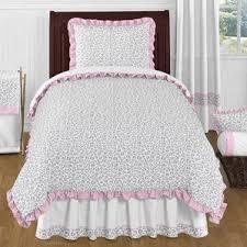 Pink Zebra Comforter Animal Print Bedding