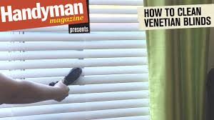 how to clean venetian blinds quickly and easily youtube