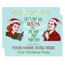 funny christmas invitations u0026 announcements zazzle canada