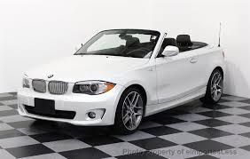 bmw convertible 1 series 2013 used bmw 1 series certified 128i convertible navi limited