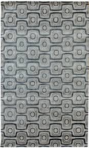 Modern Grey Rug by Directory Galleries Modern Geometric Pattern Rugs