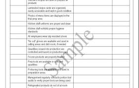 Commercial Kitchen Cleaning Checklist by Commercial Kitchen Cleaning List Template Decorbold