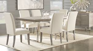 Dining Table Rooms To Go by Cindy Crawford Home San Francisco Gray 5 Pc Dining Room Dining