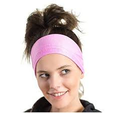 sports headband lightweight sports headband moisture wicking pink sweatband