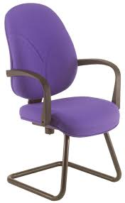 contemporary office chair upholstered with armrests fabric