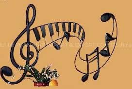 Music Note Decor Iron Wall Crafts Musical Notes Iron Wall Crafts Iron Wall Decor