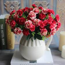 2017 austin bunch 15 heads spring silk flowers artificial rose