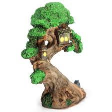 miniature gardening ornaments micro tree house landscape diy