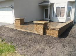 Front Yard Patio Wall Front Yard Patio Garden Living Pinterest Front Yard
