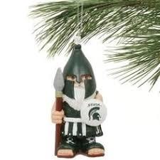 michigan state ornaments design idea of chrismas