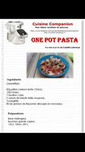 recette cuisine companion les 37 meilleures images du tableau recettes companion moulinex