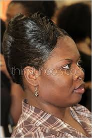 pictures of french rolls hairstyles for black women 2015 relaxed french roll