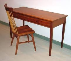 Small Wood Writing Desk Narrow Writing Desk Cfresearch Co