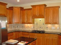painting over kitchen cabinets kitchen cabinet stunning cobblestone backsplash with wooden