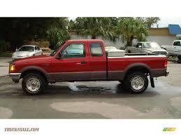 Ford Ranger Truck 4x4 - 1997 ford ranger xlt extended cab 4x4 in toreador red metallic