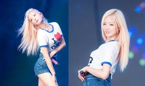 apink bomi u0027s blonde hair and blue eyes looks simply magical u2014 koreaboo