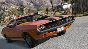Dodge Challenger Mods - 1970 dodge challenger rt 440 six pack grand theft auto v mods